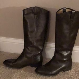 Gap Leather Riding Boots